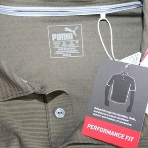 Puma Shirts - NEW Puma Pounce dryCell Performance Golf Polo, M